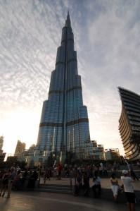 Burj Khalifa- 160 stories worth!