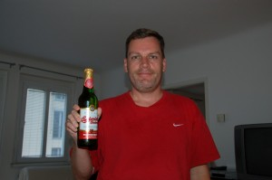 I had to have a Budweiser (from Czech Republic, not St. Louis).