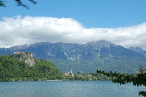 Castle Bled on Lake Bled