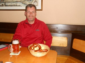 Marzen from the Weiden Brau pub around the corner from our Vienna apartment. Fabulous!