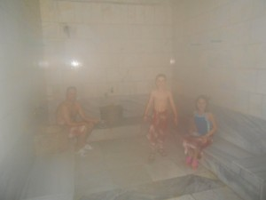 Turkish bath notes from a big world - How to make steam room in your bathroom ...