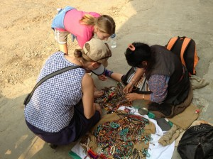 Which friendship bracelet to buy from the friendly Tibetan refugee in Nepal?