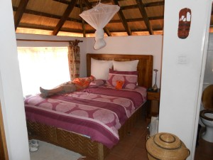 Tabonina Guesthouse in Zambia was a comfortable place