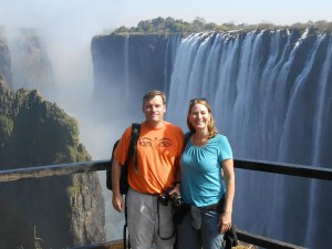 Ah, Victoria Falls. It's amazing.