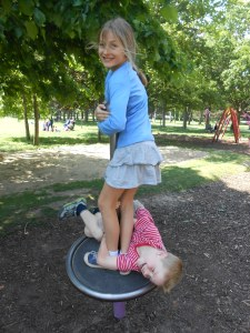 Playgrounds helped them heal their troubles
