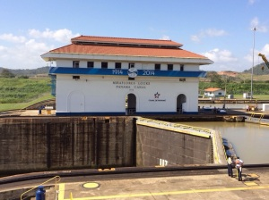 The Miraflores Lock - 100 years old
